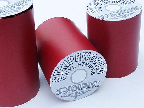 Matt Burgundy Vinyl Stripe