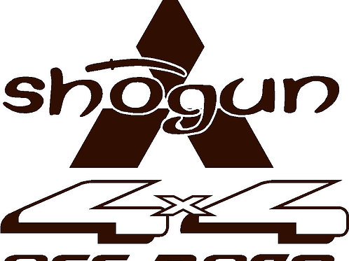 Shogun Wheelcover Decal