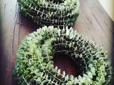 #wreath #homedeco #handmade #decor #kran