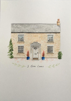 House Illustrations - Art & Soul