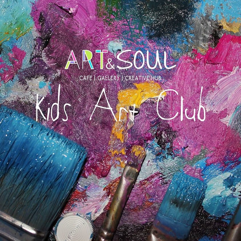 Kids Art Club (School Years 1-3)
