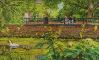 local painting - St Neots