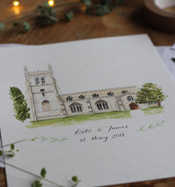 Wedding Illustration - Art & Soul