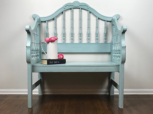 Persian Blue Bench