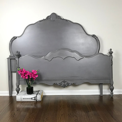 SOLD! Vintage Gray Full Bed