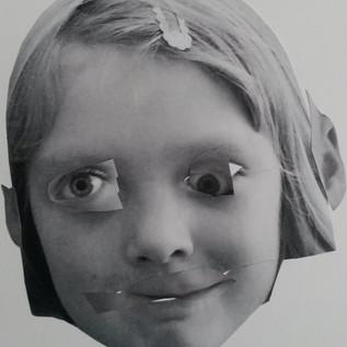 uddrag af kunstprojekt med børnehaven Tryllefløjten
