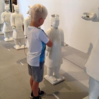 uddrag af kunstskattejagt for børnehavebørn