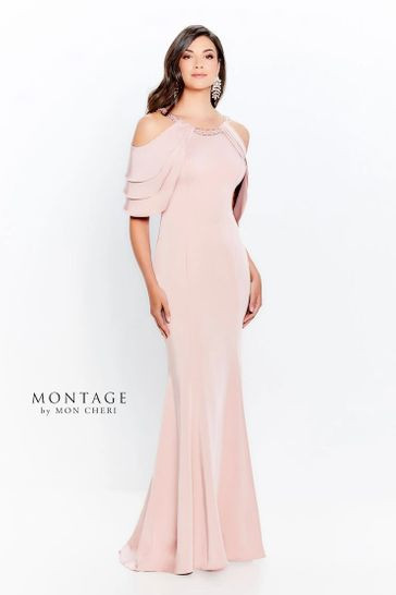 Blush Mother of the Bride Dress