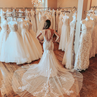 Wedding dresses with low backs