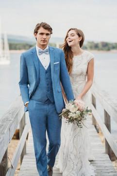 Light Blue Suit for Groom