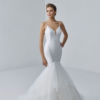 Simple enzoani wedding gowns