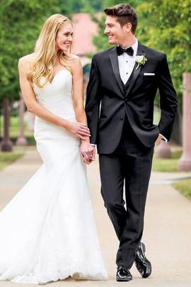 Black Tie for Groom _ Wedding Attire
