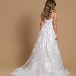 Sparkle A-line Wedding Dress