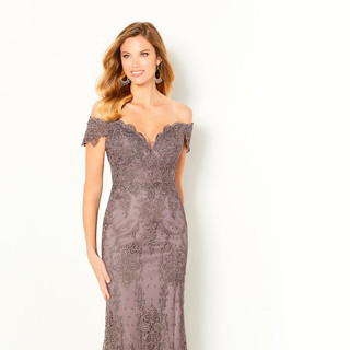 Lace mother of the bride dress