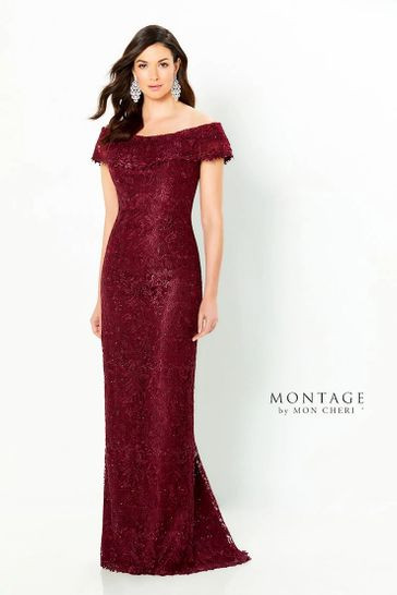 Wine Mothers' Dress