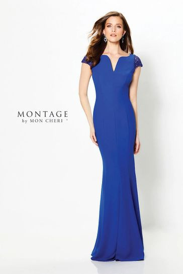 Royal Blue Mothers' Dress