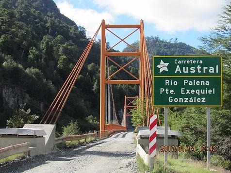 Ponte Exequiel Gonzalez - Carretera Austral