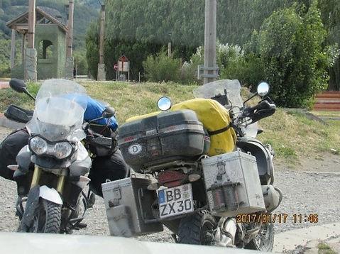 Motociclistas Alemães na Carretera