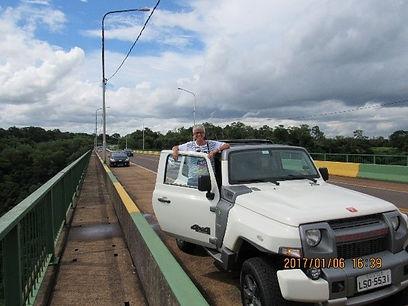 Expedição Troller Ponte Tancredo Neves – Brasil / Argentina em Foz do Iguaçu