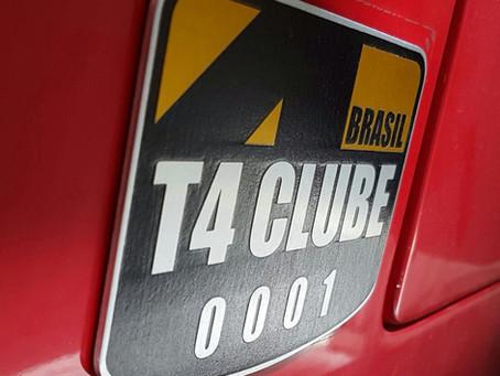 Placa T4 Clube Brasil