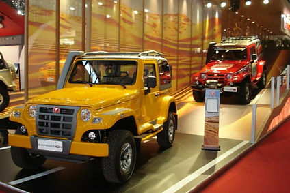 Troller Expedition Salão do automovel