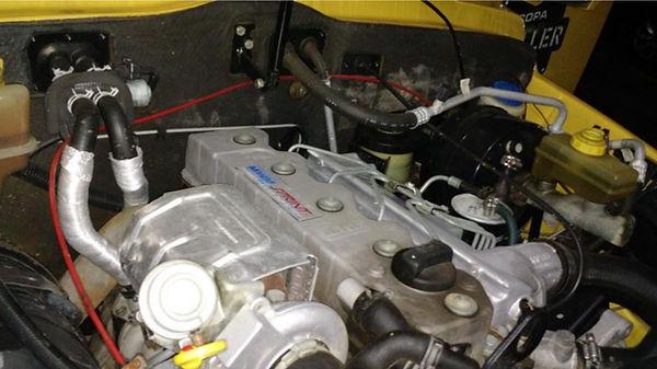 Instalação manometro pressão turbo no troller foto 5