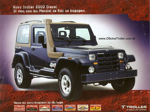 Catálogo Troller 2002