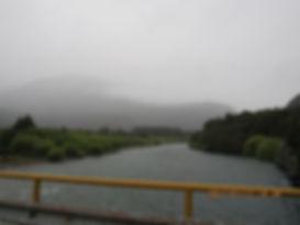Ruta 259 próximo a passagens pelos Andes