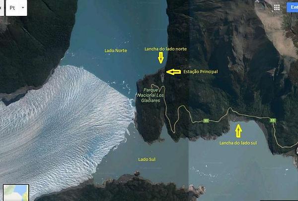 Expedição ushuaia rotas 1