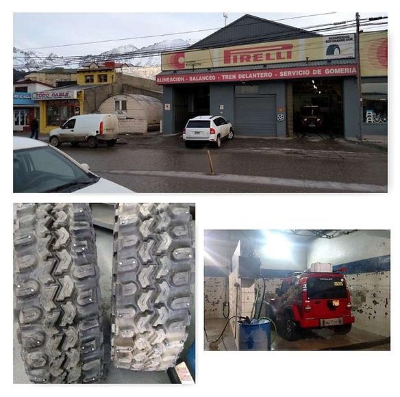 Expedição ushuaia 4x4 pneus