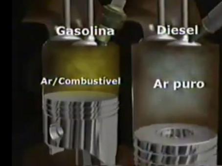 Entenda a Diferença Entre Motores Diesel e Gasolina