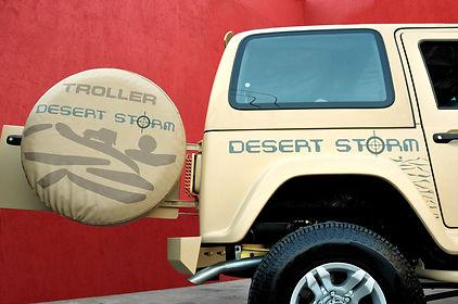Troller Desert Storm adesivo