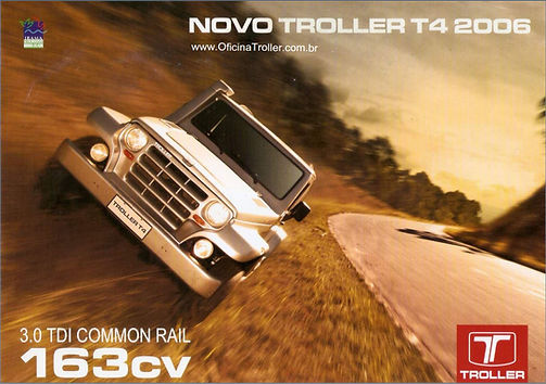 Catálogo Troller 2006