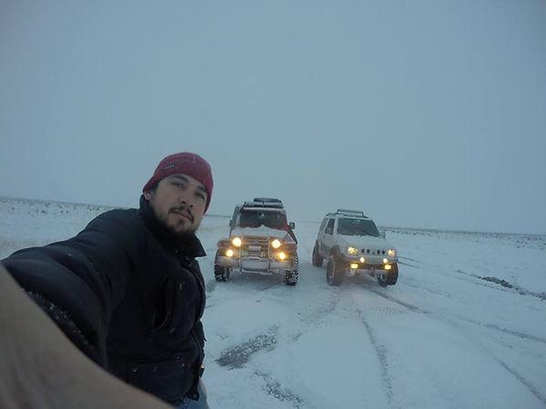 Exdição neve ushuaia Troller