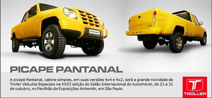 Troller Pantanal