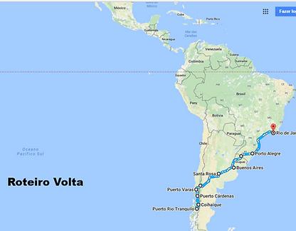 roteiro Expedição Troller ushuaia
