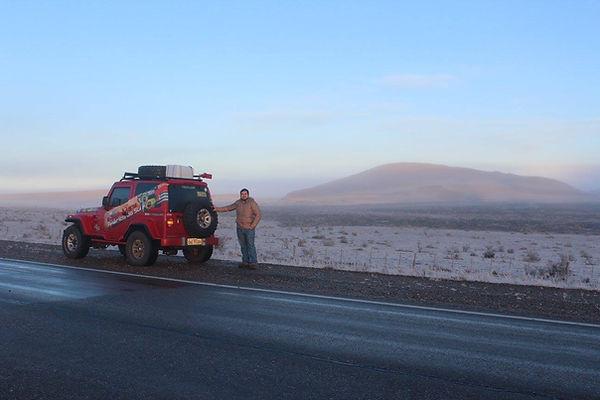 Expedição Troller ushuaia
