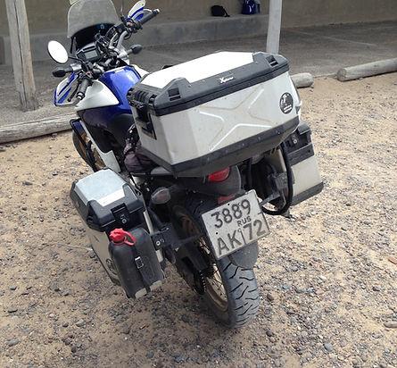 Expedição Ushuaia - Comodoro Rivadávia - Troller