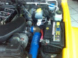 Troller 2008 Detalhes Cofre Motor
