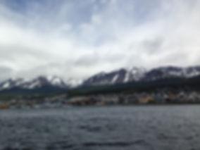Curtindo a cidade de Ushuaia canal de beagle