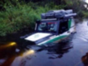 Troller no Pantanal