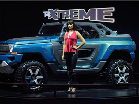 Troller T4 Xtreme jipe conceito no salão do automóvel 2016