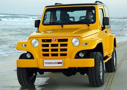 Troller 2009 amarelo