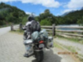 Motociclista do Texas na Carretera