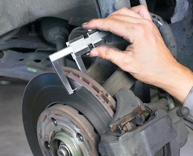 Medição Espessura Minima disco de freio