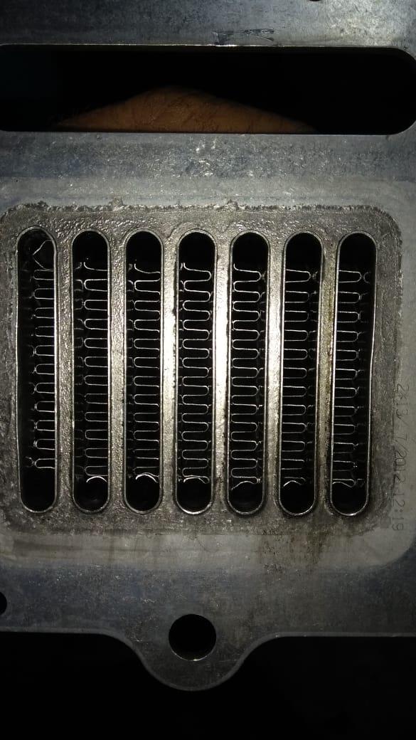 Resfriador válvula ERG