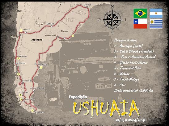 Expdição Ushuaua 2019
