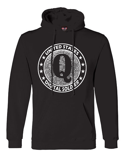 Digital Soldier Black Hoodie