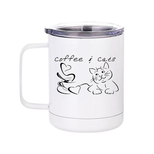 Coffee and Cats Mug/Tumbler