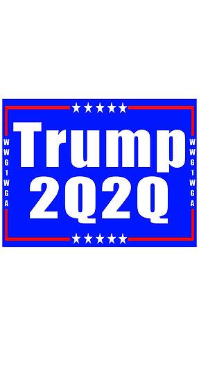 Trump 2Q2Q Sticker